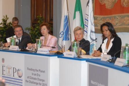 Expo, Conferenza stampa per la candidatura della città di Milano
